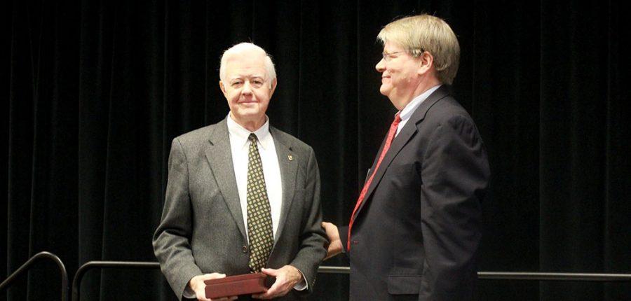 Lawrence Cutchin receives Glenn Wilson Award