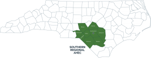 southern regional ahec counties