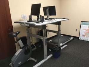 northwest ahec treadmill desk