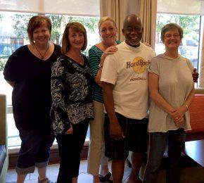 area l ahec leaders visit children's trust of sc