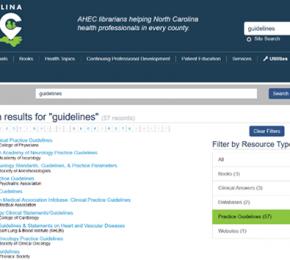 News & FAQs   NC AHEC