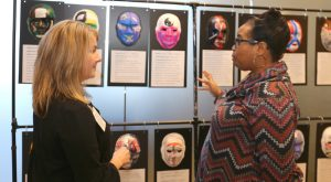 Including YOU in Continuing Education: Community events offer information and resources to the general public. A recent concussion event featured an exhibit of masks created by brain injury survivors.